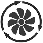 HVAC preventive maintenance icon